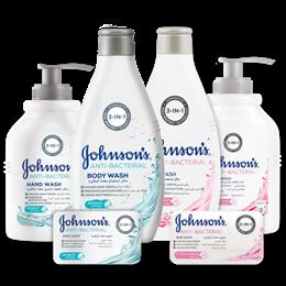 منتجات جونسون للعناية - مضاد للبكتيريا و الجراثيم