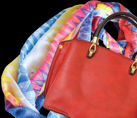 حقائب نسائية و شالات
