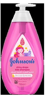 جونسون شامبو  الاطفال القطرات اللامعة 750 مل