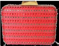 EB9994 red حقيبة يد صغيرة