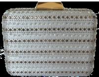 EB9994 silver حقيبة يد صغيرة