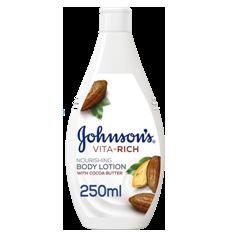 جونسون - لوشن الجسم المغذي بزبدة الكاكاو فيتا ريتش  250 مل