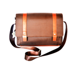 GB 3186 brown  حقيبة الكتف رجالي