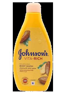 جونسون صابون سائل الاستحمام بخلاصة بزبدة الكاكاو 250مل