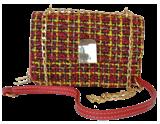 8274 red حقيبة الكتف