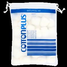 كرات قطنية الترا بيضاء 40 قطعة - 29 جم من كوتون بلس