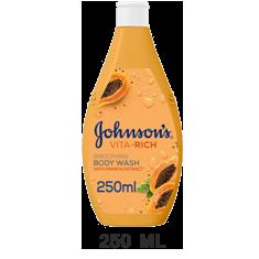 جونسون صابون سائل الاستحمام بخلاصة البابايا 250 مل